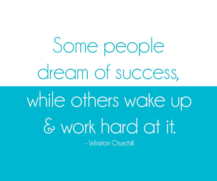 Dream of Success Winston Churchill 1-17-14
