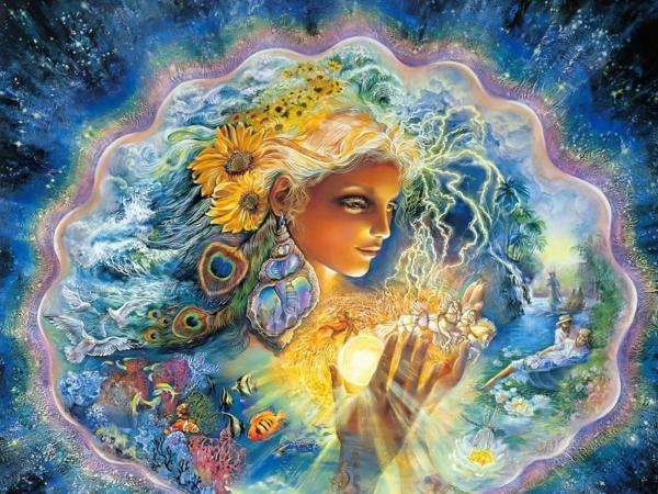 Goddess Of Light Side - Goddesses - Magical Pictures