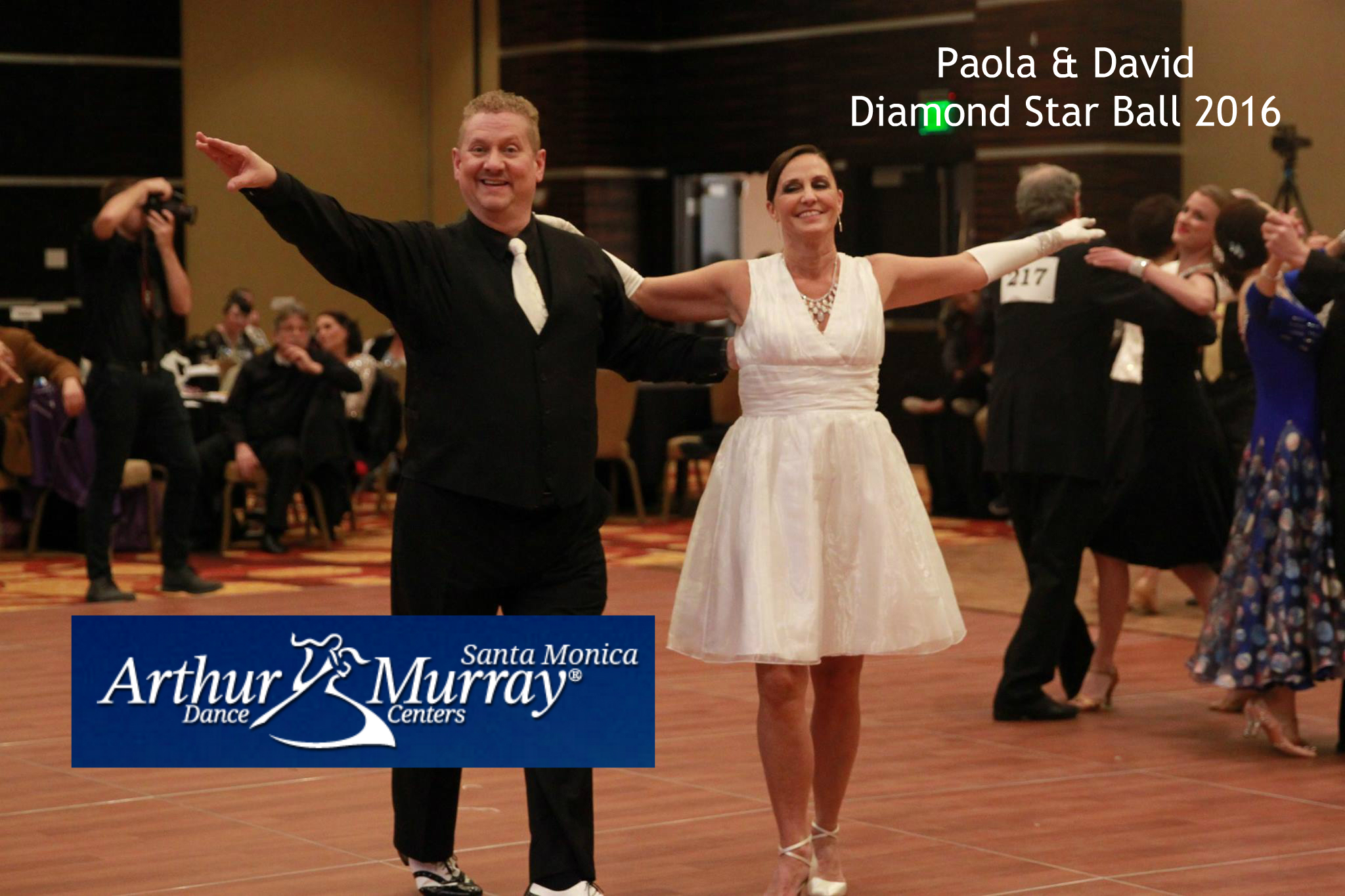 David and Paola DSB 3-6-16 with Logo and Text